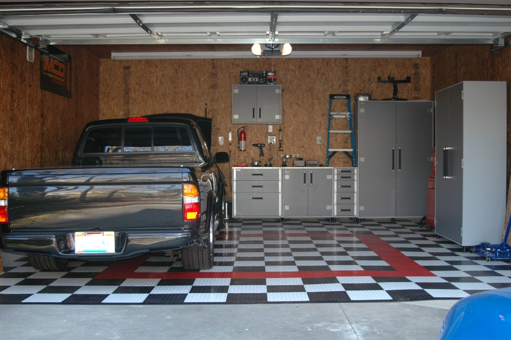 supratrucks.com - /pictures/garage/ on how to finish basement, how to paint concrete floors, how to organize bins in garage, how to organize your garage, how to finish an attic, how to put your garage in order, how to organize garage space, how to finish drywall,