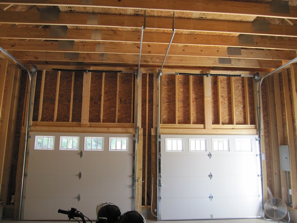 Garage door window kits for Garage side door and frame